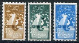 ESPAÑA     Nº  1180 / 82   Sin Charnela -118 - 1931-Hoy: 2ª República - ... Juan Carlos I