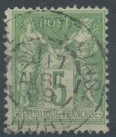 Lot N°46189  N°106 Oblit Cachet à Date à Déchiffrer - 1876-1898 Sage (Type II)