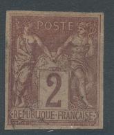 Lot N°46191  N°85 Oblit Cachet à Date, Non Dentelé - 1876-1898 Sage (Type II)