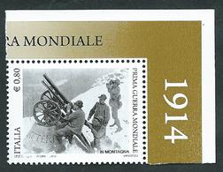Italia 2015; Prima Guerra Mondiale, Angolo: Alpini. - 2011-...:  Nuovi