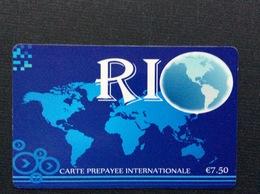 CARTE PRÉPAYÉE   RIO  *7,50€  0591 - Autres Prépayées
