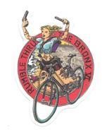 Adesivo Calcomania Sticker Tatoo Tatuaggio Sexy Beauty Donna Pistole Bicicletta Rumble Thru The Bronx VI Rimbombo Attrav - Adesivi