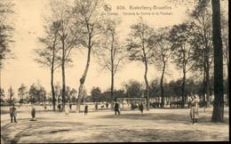 KOEKELBERG :   Le Plateau : Terrains Du Tennis Et Du Football - Koekelberg