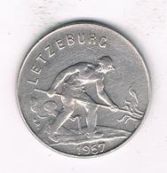 1 FRANC  1957 LUXEMBURG 1964/ - Luxembourg