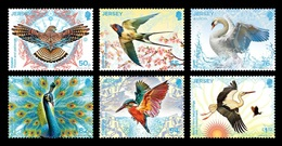 Jersey 2019 Mih. 2289/94 Europa. Fauna. National Birds MNH ** - Jersey