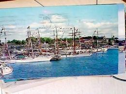 NORGE  OSLO  HARBOUR PORTO  PORT NAVE SHIP  VELA VELIERI VB1969 HA8357 - Norvegia