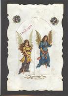 Themes Div-ref AA688- Carte Avec Decoupis -ajoutis - Decoupi  Anges Et Enfants - Carte 2 Volets - 2 Scans - - Fantaisies