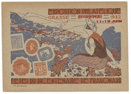 ENTIER-POSTAL-4-EXPOSITION-PHILATELIQUE-1932 - Other Collections