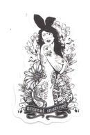 Adesivo Calcomania Sticker Tatoo Tatuaggio Sexy Beauty Donna Animal Instict Istinto Animale Dimensioni Cm 7,5x4,5 Circa - Adesivi