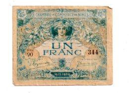 Nimes -un Franc-voir état - Chambre De Commerce