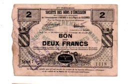 Avesnes Et Solesmes-deux Francs -voir état - Chambre De Commerce