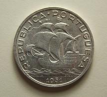 Portugal 5 Escudos 1951 Silver - Portugal