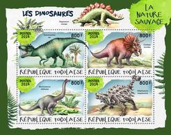 TOGO 2019 - Dinosaurs II. Official Issue. - Prehistorisch