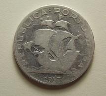 Portugal 5 Escudos 1937 Silver - Portugal