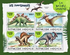 TOGO 2019 - Dinosaurs I. Official Issue. - Prehistorisch