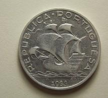 Portugal 5 Escudos 1933 Silver - Portugal