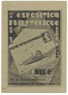 ENTIER-POSTAL-7-EXPOSITION-PHILATELIQUE-1931 - Other Collections
