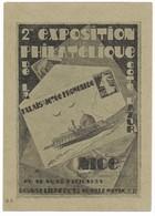 ENTIER-POSTAL-7-EXPOSITION-PHILATELIQUE-1931 - Autres Collections