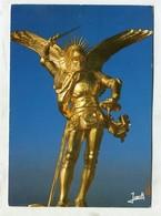 ART / SCULPTURE ... - AK 346185  Mont Saint Michel - Statue De L'archange Saint-Michel - Sculptures