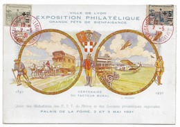 ENTIER-POSTAL-9-EXPOSITION-PHILATELIQUE-1931 - Other Collections