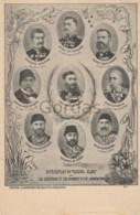 Armenia - Les Generaux Et Les Hommes D'Etat Armeniens - Propaganda - Arménie