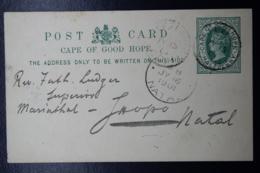 Cape Of Good Hope HG 5 Postcard Used And Unused - Capo Di Buona Speranza (1853-1904)