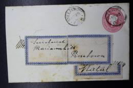 Cape Of Good Hope Cover  Type 2 145:88 Sneezewood -> Pinetown - Capo Di Buona Speranza (1853-1904)