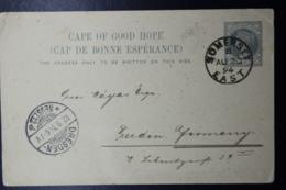Cape Of Good Hope Postcard Nr 8 Somerset East -> Dresden Germany 1894 - Südafrika (...-1961)