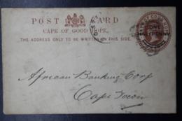 Cape Of Good Hope Postcard Nr 9 Putzel 2, - Südafrika (...-1961)
