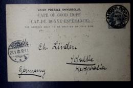 Cape Of Good Hope Alfred Docks Putzel 4 -> Germany - Südafrika (...-1961)