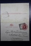 Cape Of Good Hope Letter Card L1 120*80mm Worcestor -> Capetown 1898 - Südafrika (...-1961)