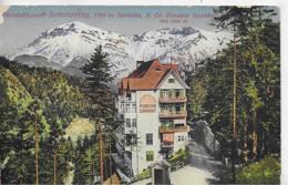 AK 0177  Semmering - Pension Sonnhof / Verlag Ledermann Um 1916 - Semmering