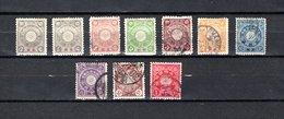 CHINA.  Despacho  Japonés   1900-02.   Y&T  Nº    1/3-5/6-8-10/11-14/15 - Autres