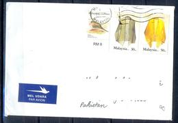 K527- Postal Used Cover. Posted  From Malaysia To Pakistan.Dress. Bird. - Malaysia (1964-...)