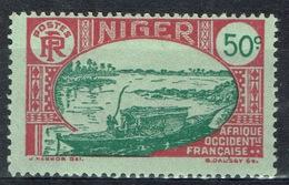 Niger, Le Fleuve Niger, 50c., 1926, MH VF - Niger (1921-1944)