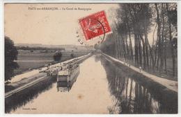 CPA- PACY-sur-ARMANCON - Le Canal De Bourgogne-1908-dép89-2scans - Autres Communes