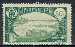 Niger, Le Fleuve Niger, 30c., 1926, MH VF - Niger (1921-1944)