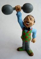 RARE FIGURINE BD PVC VERBIEST - SAMSON 1990 - Figurillas