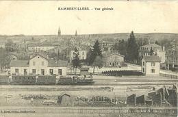 Rambervillers Vue Generale Gare Train - Rambervillers