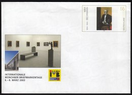 Germany 2003 / Postal Stationery / Max Beckmann, Painter / IMB International Munich Stamp's Day - [7] Repubblica Federale