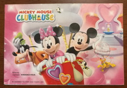 Disney Mickey Mouse Clubhouse,CN 08 Hangzhou Lunar New Year Of Of The Rat Greeting Pre-stamped Letter Card - Disney