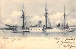 "S.M.S. ""Moltke ""1903 AKS - Guerre"