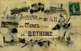 62 SOUVENIR DES N° 5 & 11 DES MINES DE BETHUNE  / A 372 - Bethune