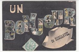 CPA-UN BONJOUR DE ROSCANVEL- 1907-dép29-2scans - France