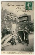 Grandes Dalles - Cabestan De Secours Des Yportais  Année 1908 - Série HW  Le Pays De Caux - Frankreich