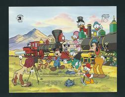 ANTIGUA & BARBUDA, 1989 World Stamp Expo'89 S/s Walt DISNEY MNH - Exposiciones Filatélicas