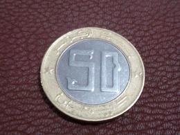 Algérie Algeria Argelia Coin Pièce De Monnaie 50.00 Da - Algérie