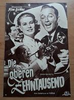 """Frank SINATRA & Grace KELLY & Bing CROSBY In """"Die Oberen Zehntausend (HIGH SOCIETY)"""" - Altes IFB-Filmprogramm /a124 - Riviste"""