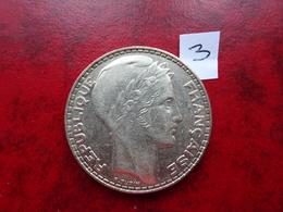 20 Francs - Type Turin - Argent - 1933 - L. 20 Francs