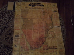 South Africa,  Vintage Maps 1926. - Geographische Kaarten